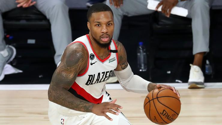 Damian Lillard Calls Out Skip Bayless For Backpedaling In Person