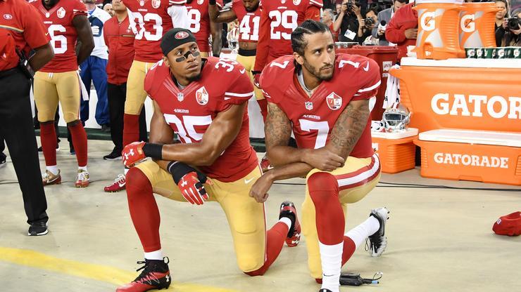 Colin Kaepernick Calls Out NFL For Blackballing Eric Reid