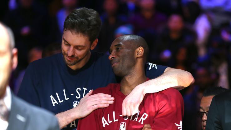 Pau Gasol Names First Born Child After Kobe Bryant