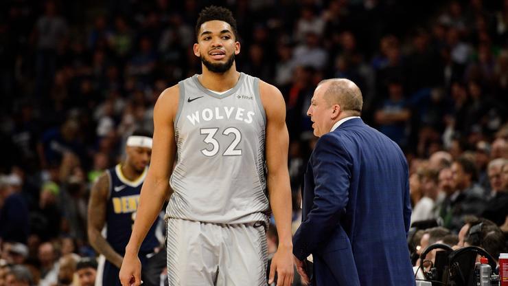 Knicks & Tom Thibodeau Reportedly Eyeing Karl-Anthony Towns