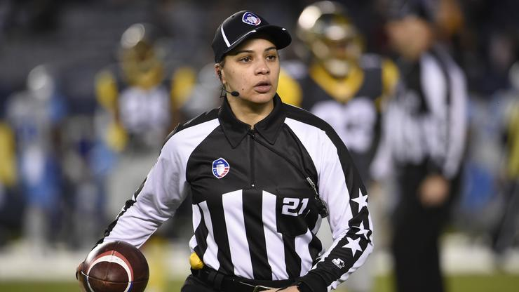 Maia Chaka Makes History As First Black Woman To Become An NFL Official