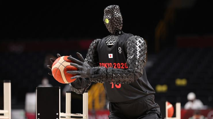 Basketball Robot Steals The Show At The Tokyo Olympics
